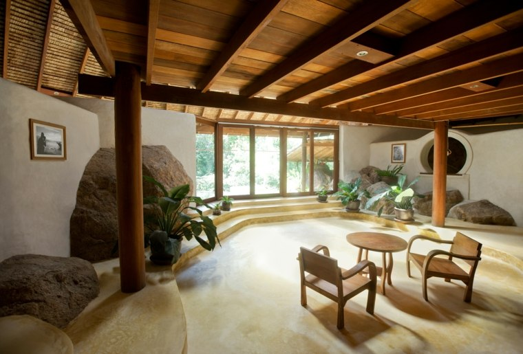 interior de estilo rústico