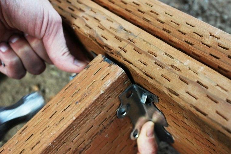 instalar las vigas de una cubierta