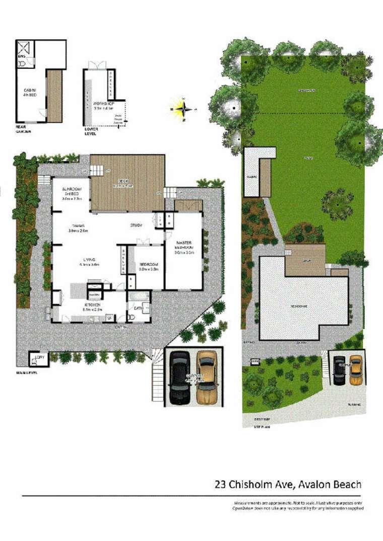 planos de casa en Avalon Beach
