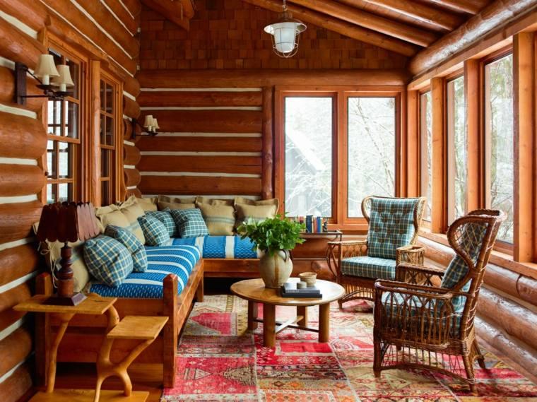 interiores de estilo rústico