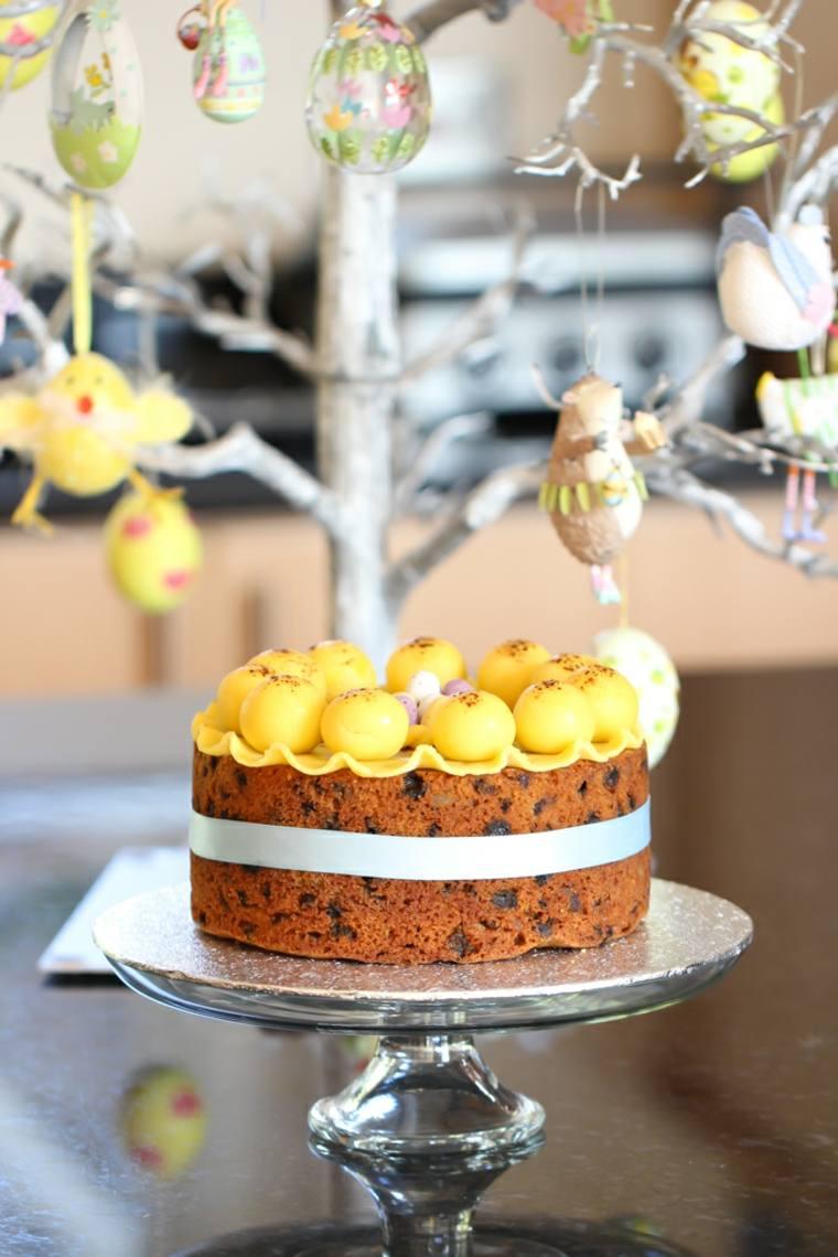 tarta Simnel para Semana Santa