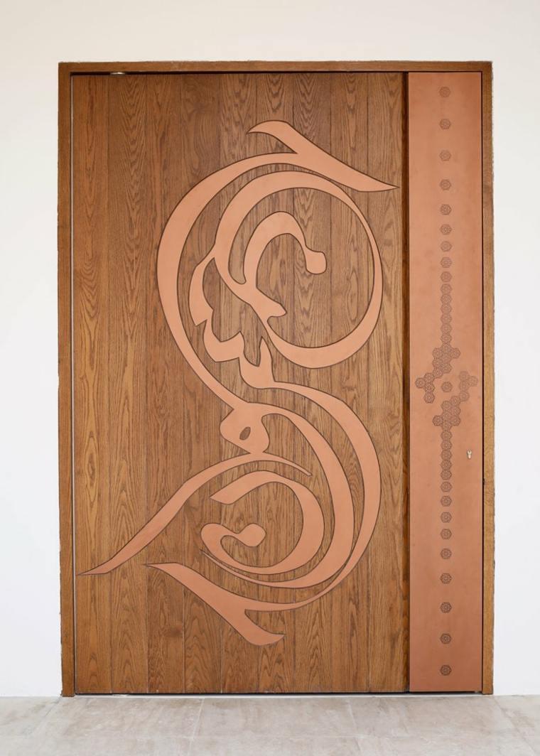 puerta madera original especial