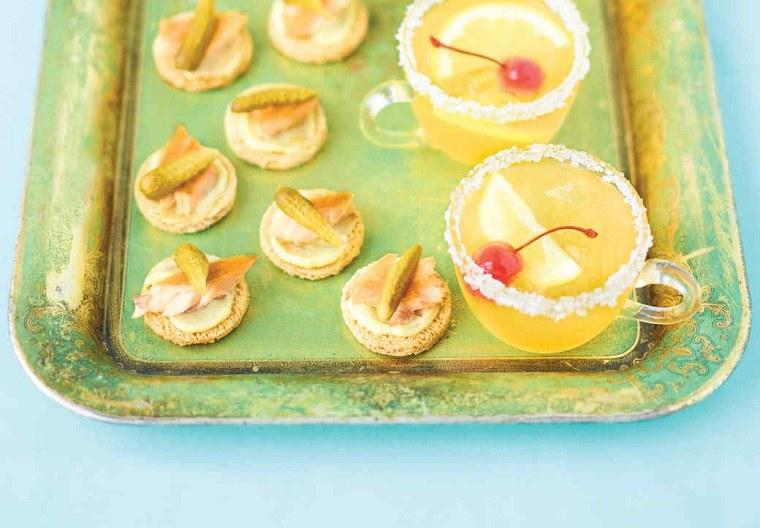 recetas de tapas-tostadas-truchas-ajo