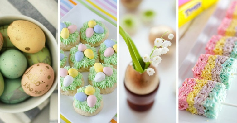 dulces para Pascua