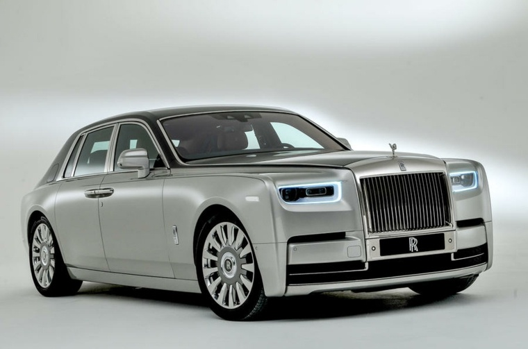 rolls royce phantom-blanco