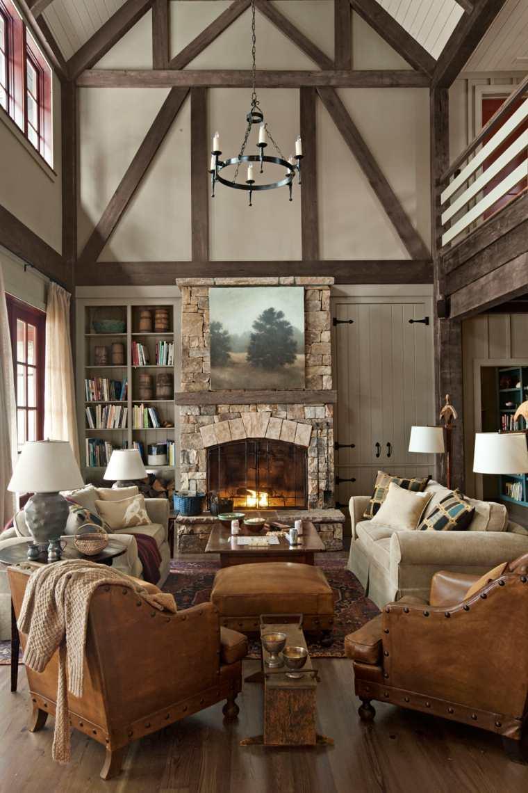 decoración de interiores de estilo rústico