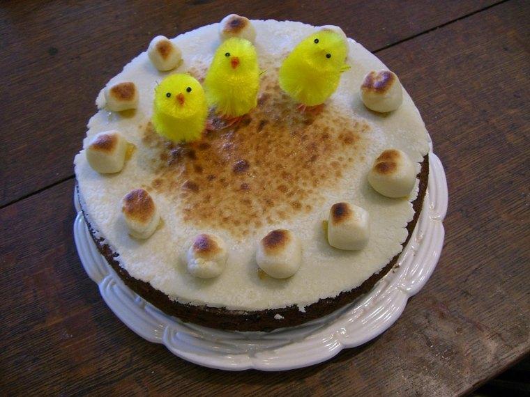 bonita tarta Simnel