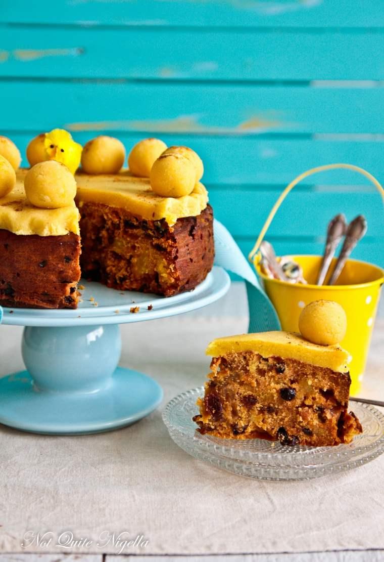 estupenda tarta Simnel