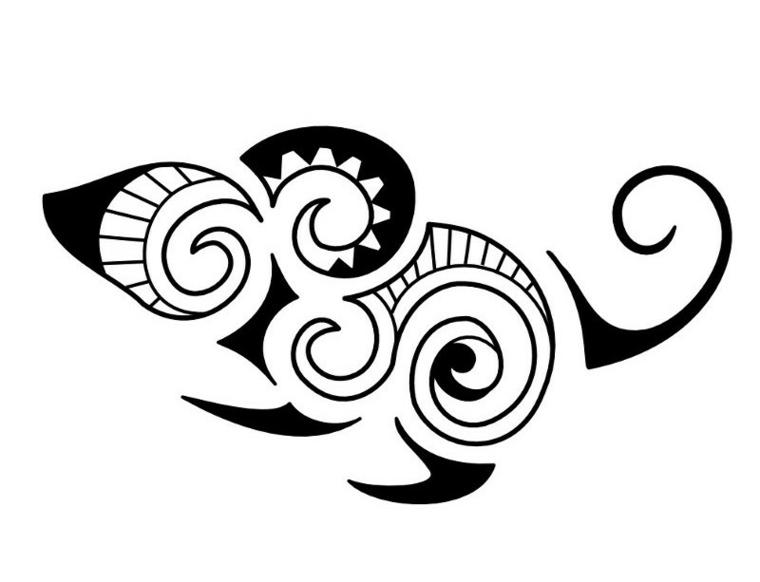 tatuaje-ornamento-raton