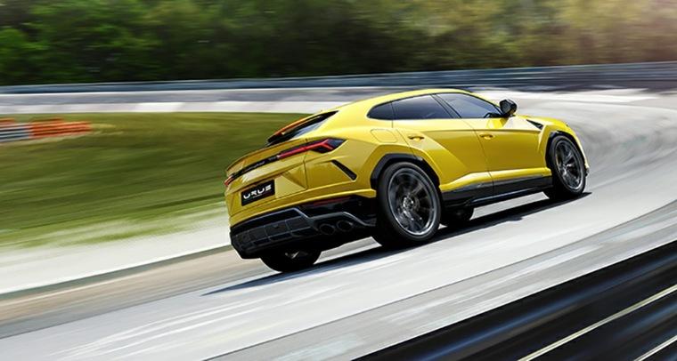 vehículos de lujo lamborghini-amarillo
