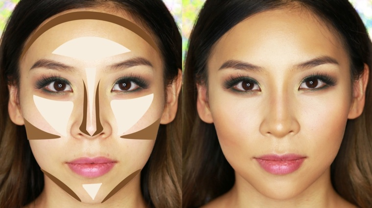 maquillaje contouring