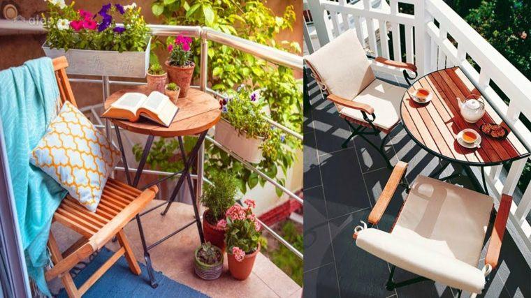 cómo decorar terrazas y balcones