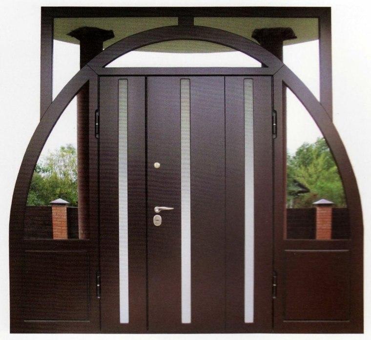 barnizar puerta de entrada-decorar-casa