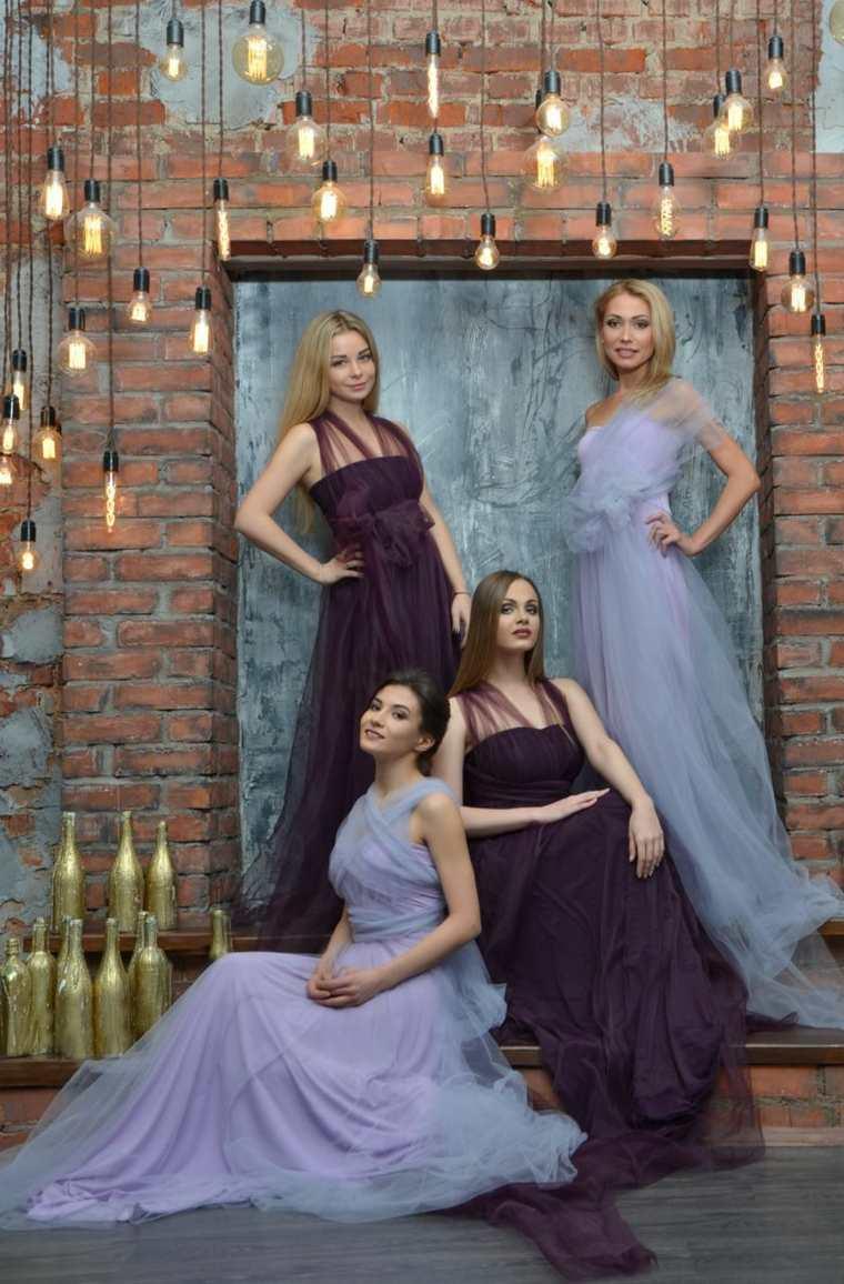 belleza-vestidos-damas-honor-opciones