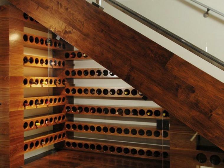 cómo organizar el hueco bajo las escaleras
