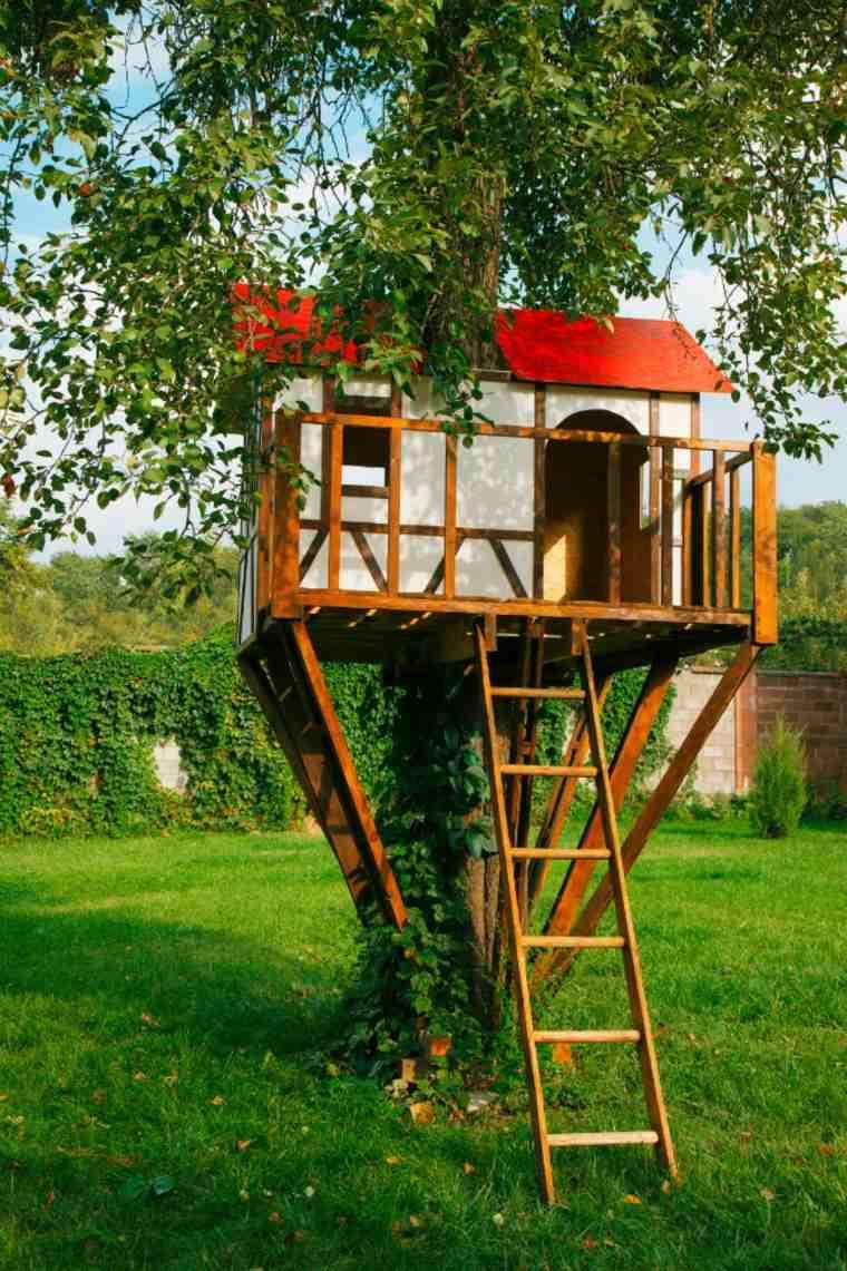 originales casas en los arboles