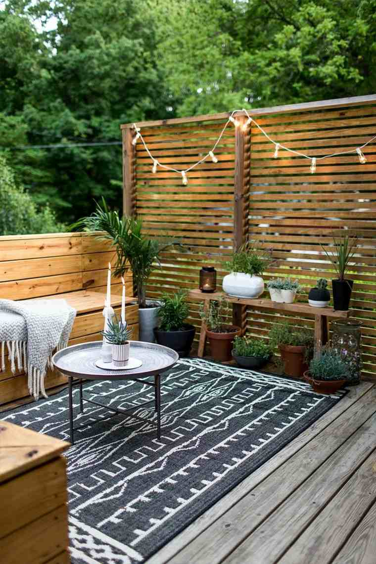 bonitas terrazas con encanto