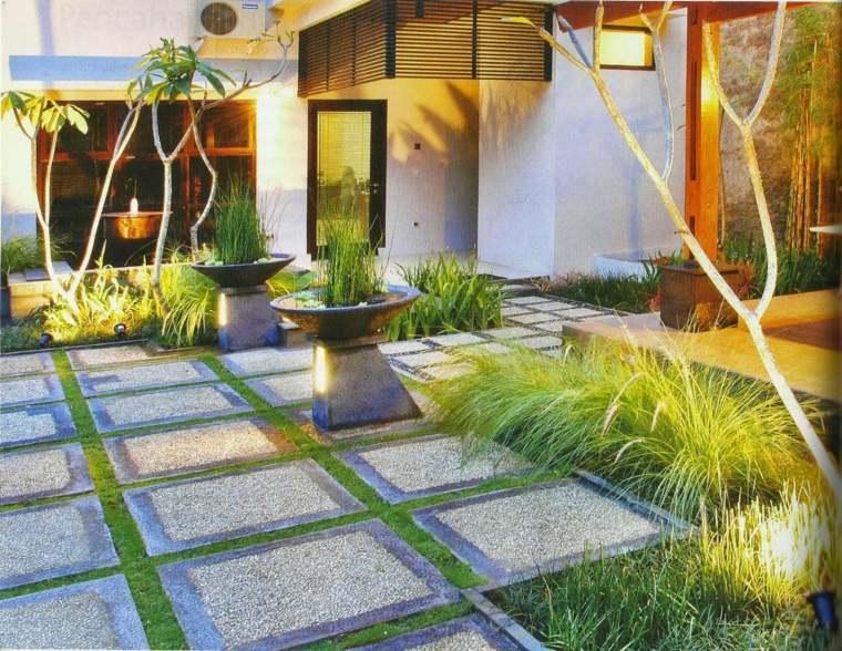 originales ideas de diseño de jardines pequeños