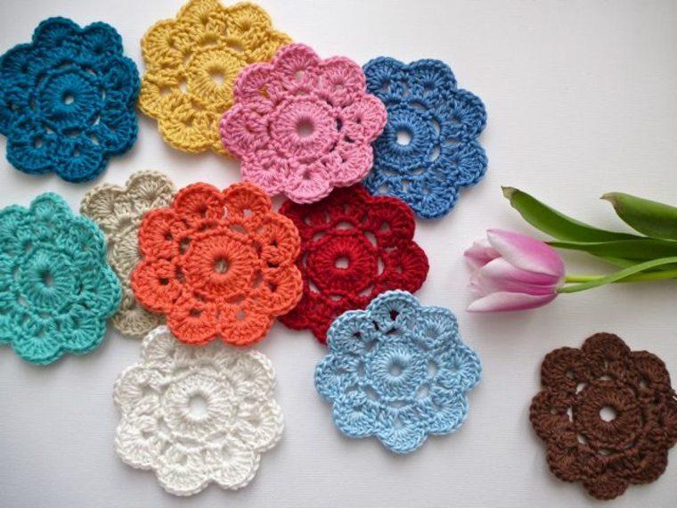 consejos sobre cómo hacer Flores de crochet