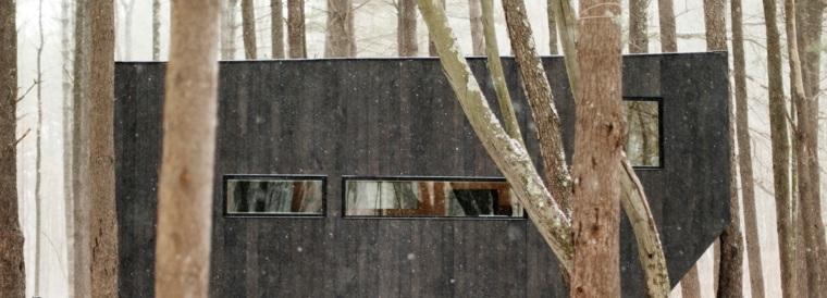cabaña de madera Getaway