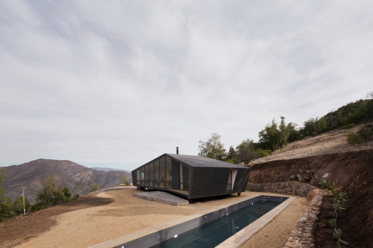 cabañas rurales refugio montanas