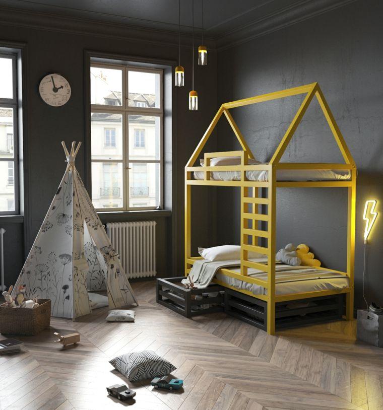 cama-diseno-original-dormitorio-gris-opciones