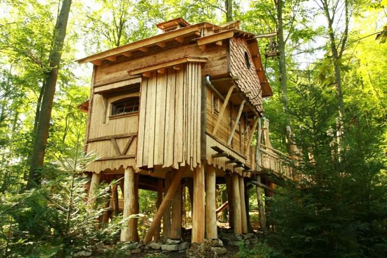 cojnejos para construir casitas en el árbol