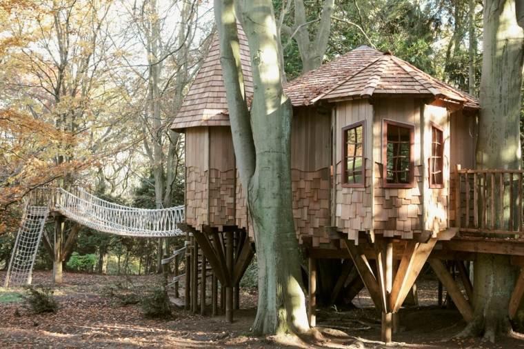 cómo construir cabañas en los árboles