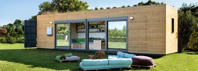 casa modular vista
