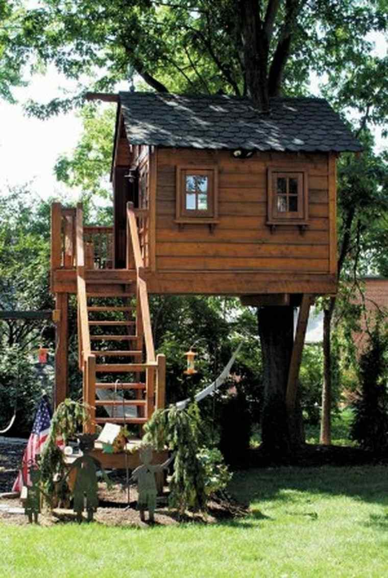 original casa en el árbol