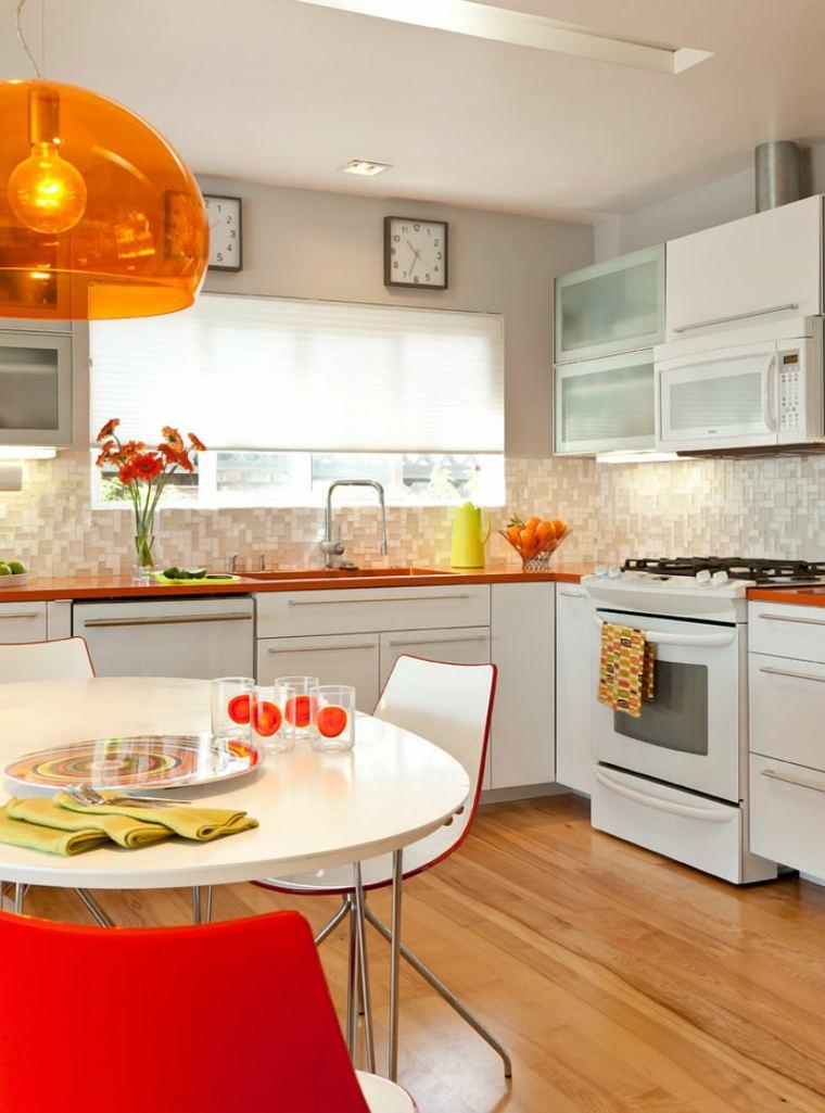 cocina-lampara-naranja