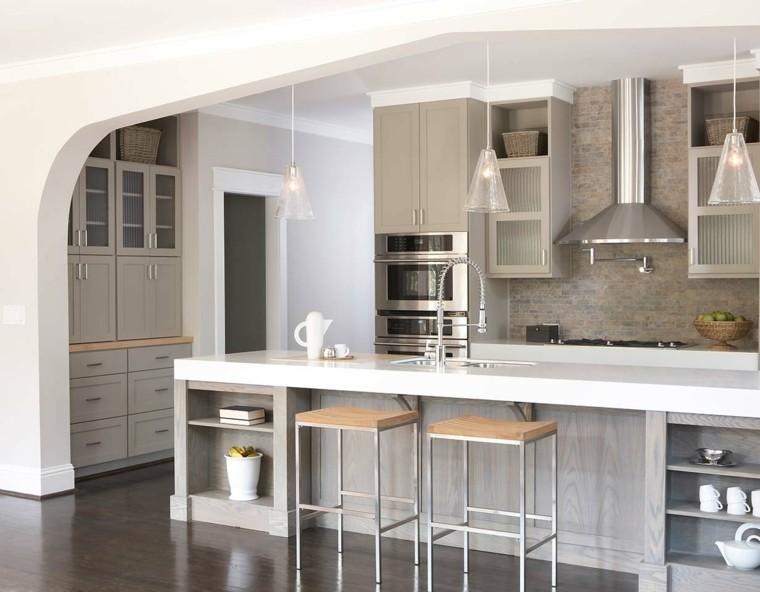 Color visón para los muebles de la cocina - Ideas inspiradoras -