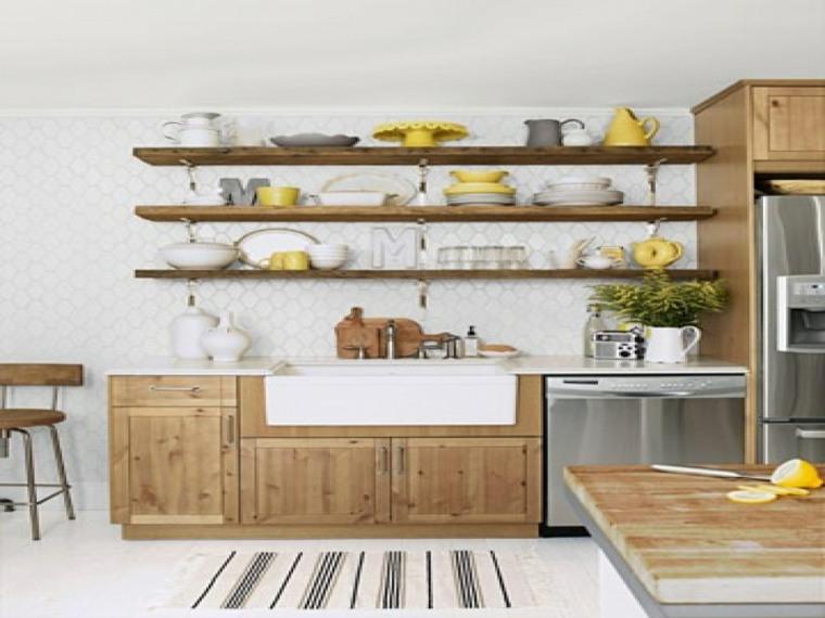 cocina-rustica-estantes
