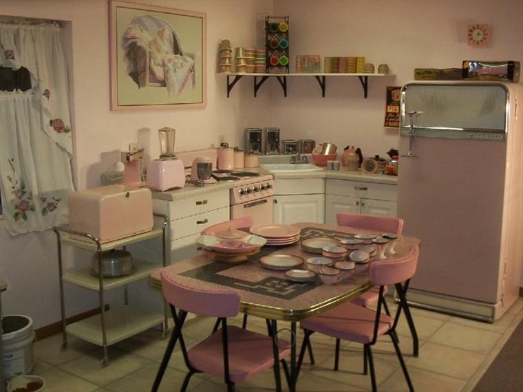 cocina-vintage-rosada