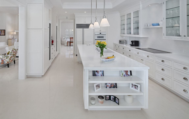 cocinas blancas diseño diferente especial