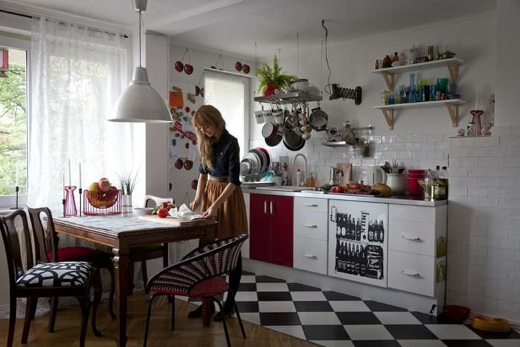 cocinas retro diseño
