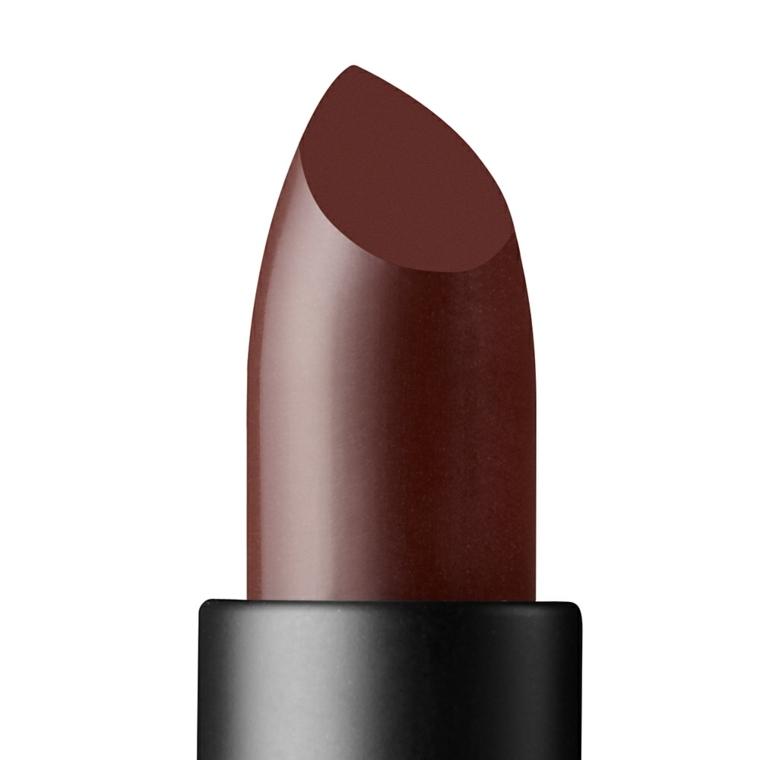 lápiz de labios en tonos granate
