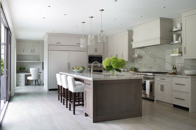 color vis n para los muebles de la cocina ideas