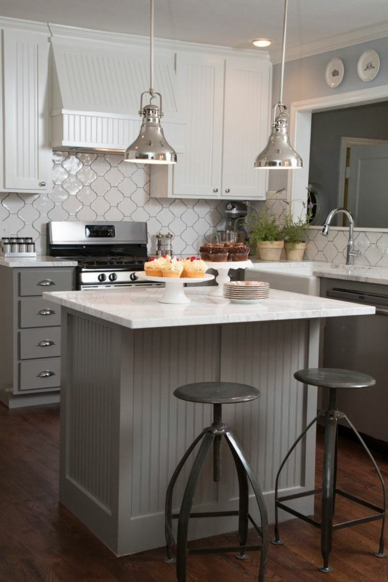 Color vis n para los muebles de la cocina ideas for Muebles cocina pequena