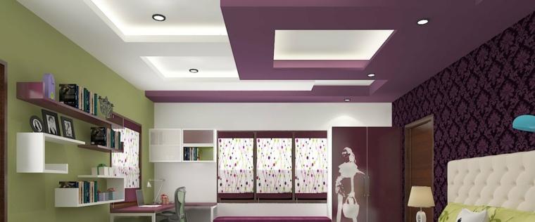 Iluminación indirecta LED para diseños de falsos techos
