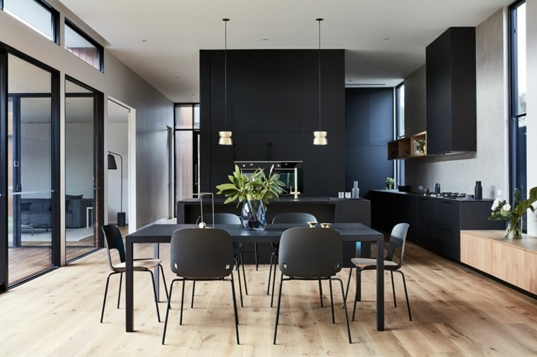 comedor-muebles-negros