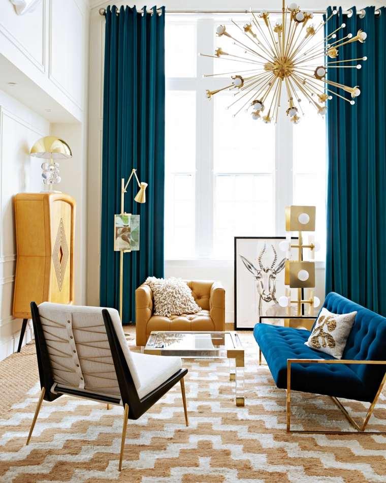 cómo decorar el salón-diseno-cortinas-sofa-mismo-color
