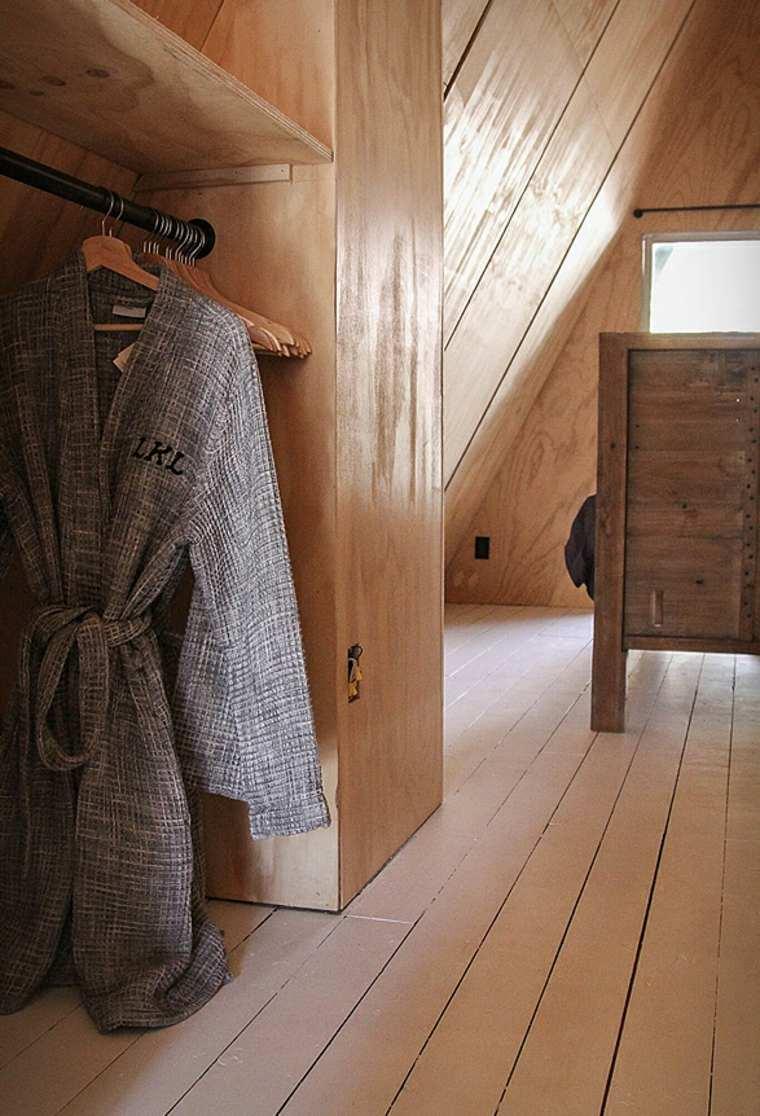 construcciones modernas-interiores-madera