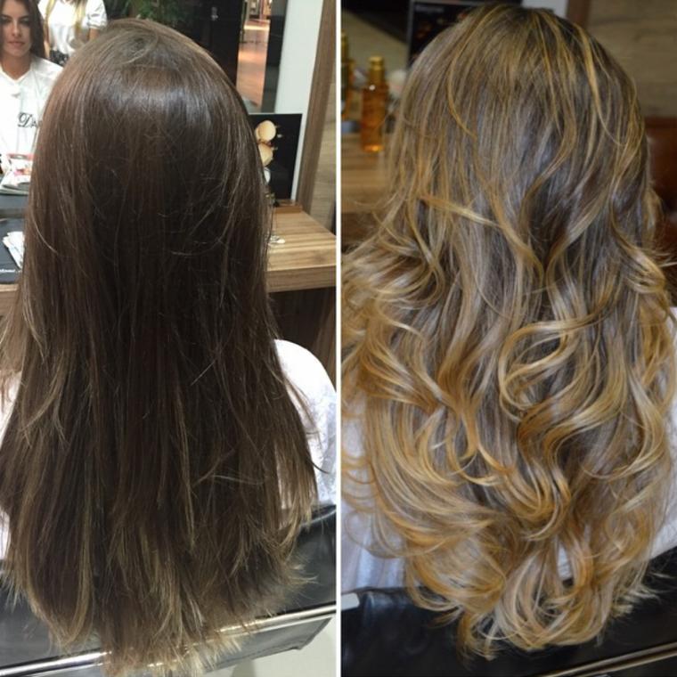 cortes de pelo a capas-largo