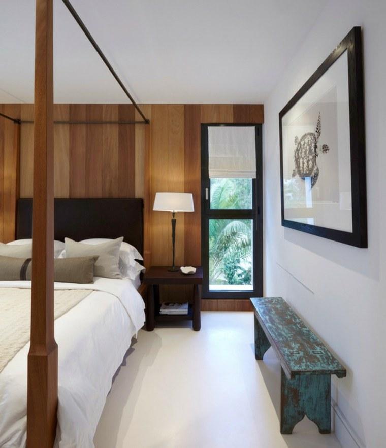 cuadro-tortuga-dormitorio-moderno