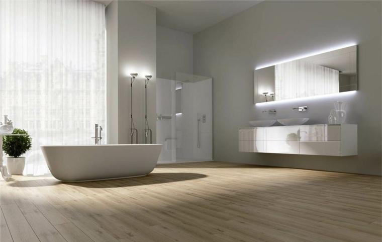 baño elegante y simple