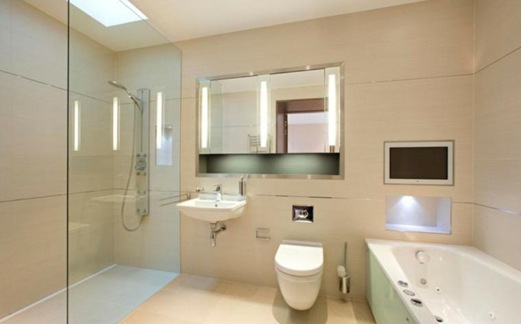 estupendo diseño de baño minimalista