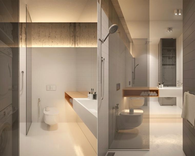 baños contemporáneos minimalistas