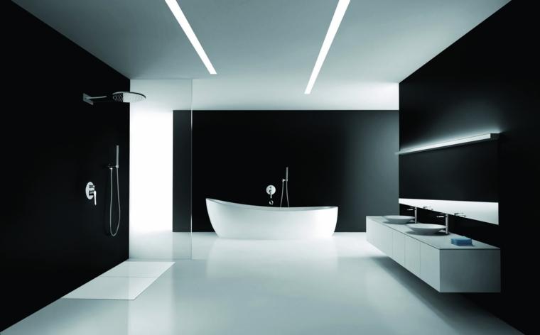 Baños minimalistas - un estilo de diseño que crea amplitud y luz -