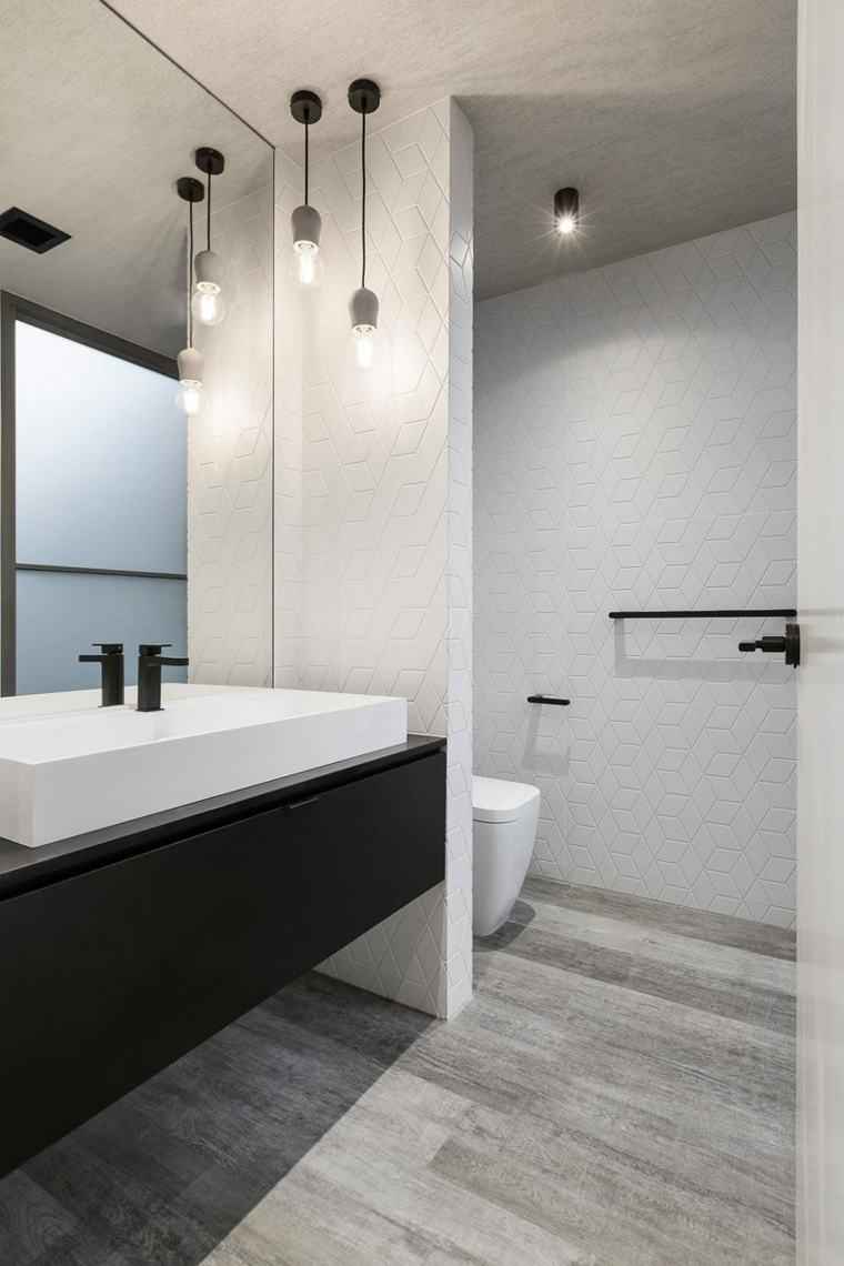 Ba os minimalistas un estilo de dise o que crea amplitud for Diseno de bano compartido